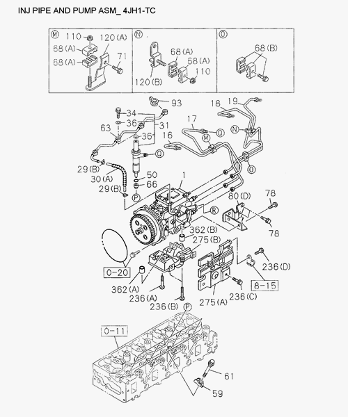 IAMI-Part Catalog-Illustration and Text of Figure 0-40