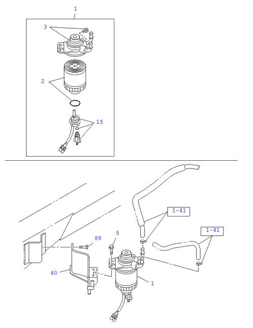 Isuzu Elf Fuel Filter